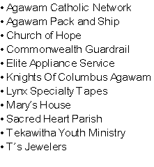 • Agawam Catholic Network